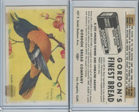 D39-11 Gordon Bread, Bird Pictures, 1950, Baltimore Oriole