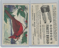 D39-11 Gordon Bread, Bird Pictures, 1950, Cardinal