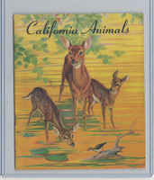 D39-12 Gordons Bread, California Animal, 1940's, Album Used (Tape)