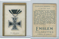 T56 Emblem,  Emblem Series, 1911, #5. The Iron Cross, Prussia