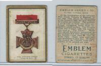 T56 Emblem,  Emblem Series, 1911, #6. The Victoria Cross, Great Britain