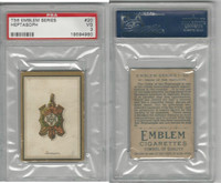 T56 Emblem,  Emblem Series, 1911, #20.Order of the Heptasoph, PSA 3 VG