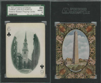 PL Card, Chisholm, Historic Boston, 1897, C6 Christ Church, SGC 88 NMMT