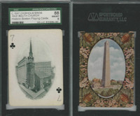 PL Card, Chisholm, Historic Boston, 1897, C7, Old South Church, SGC 88 NMMT