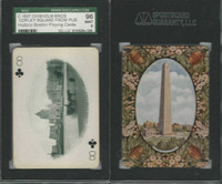 PL Card, Chisholm, Historic Boston, 1897, C8, Copley Square, SGC 96 Mint