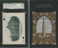 PL Card, Chisholm, Historic Boston, 1897, C9, Museum Fine Arts, SGC 92 NMMT+