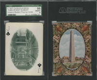 PL Card, Chisholm, Historic Boston, 1897, CJ, Park Street Subway, SGC 88 NMMT
