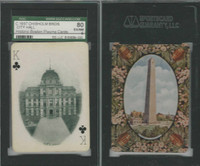 PL Card, Chisholm, Historic Boston, 1897, CK, City Hall, SGC 80 EXMT