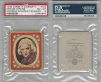 G14-15 Garbaty, Modern Beauty, 1934, #135 Miriam Hopkins, PSA 8 NMMT