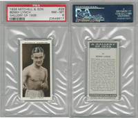 M122-34 Mitchell, Gallery of 1935, Boxing, #29 Benny Lynch, PSA 8 NMMT