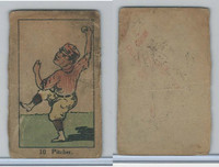 W542, Strip Card, Sports Drawings, 1920's, #10 Pitcher, Baseball