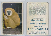 F333 Jewel, Animal Of The Week, 1956, Goldie, Agile Gibbon