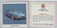 UO63 BA Oil, Gallery of Great Cars, 1967, Jaguar XK=E
