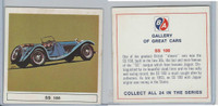 UO63 BA Oil, Gallery of Great Cars, 1967, SS 100