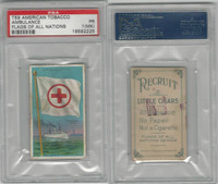 T59 American Tobacco, Flags of all Nations, 1910, Ambulance, PSA 1 MK