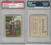T52 Helmar, Costumes & Scenery, 1912, Germany, PSA 4 VGEX