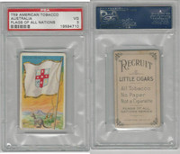 T59 American Tobacco, Flags of all Nations, 1910, Australia, PSA 3 VG