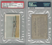 E195 New England Confectory, Airplane, 1930's, #10 Ford, PSA 6 EXMT