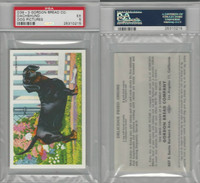 D39-3, Gordon Bread, Recipe - Dogs, 1940's, Dachshund, PSA 5 EX