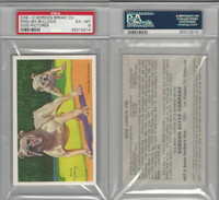 D39-3, Gordon Bread, Recipe - Dogs, 1940's, English Bulldog, PSA 6 EXMT