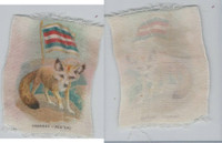 SC1 ITC Silk, Animal & Flag, 1910, Frennec, Algiers