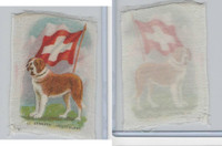 SC1 ITC Silk, Animal & Flag, 1910, St. Bernard, Switzerland