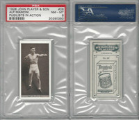 P72-198 Player, Pugilists In Action, 1928, Boxing, #26 Alf Mancini, PSA 8 NMMT