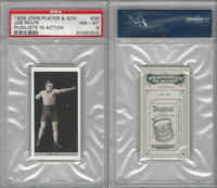 P72-198 Player, Pugilists In Action, 1928, Boxing, #36 Joe Rolfe, PSA 8 NMMT
