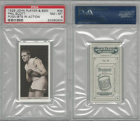 P72-198 Player, Pugilists In Action, 1928, Boxing, #38 Phil Scott, PSA 8 NMMT