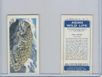 B0-0 Brooke Bond Tea, Asian Wild Life, 1962, #14 Snow Leopard
