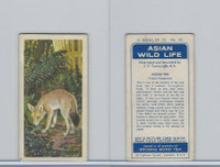 B0-0 Brooke Bond Tea, Asian Wild Life, 1962, #26 Indian Fox