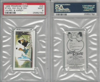 P0-0 Primrose Confectionery, Laurel & Hardy, 1968, #25, PSA 9 Mint