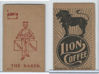 K37 Lion Coffee, Farming Subjects, 1910, HF-10 The Baker