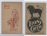 K37 Lion Coffee, Farming Subjects, 1910, HF-18 Baker's Dog