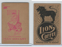K37 Lion Coffee, Farming Subjects, 1910, HF-24 Butcher's Man Servant