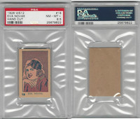 W512 Strip card, Famous People, 1926, #18 Eva Novak, PSA 8.5 NMMT+