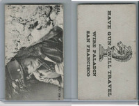 F373 Rinso Soap, Paladin Trading Cards, 1959, #12 Have Gun Will Travel