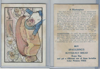 D50 Bakeries, Magic Cards Of Knowledge, 1930's, #45 A Masterpiece