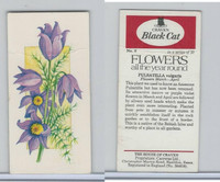C18-0 Carreras, Flowers All Year Round, 1977, #8 Pulsatilla