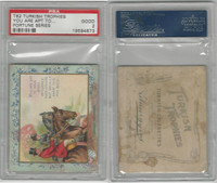 T62 Turkish Trophies, Fortune Series, 1910, You Are Apt, PSA 2 Good