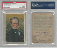 T68 ATC, Heroes/Men of History, 1912, Clay, Henry, PSA 1 MK