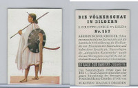 E10-11 Eckstein Halpaus, People Of World, 1932, #157 Abyssinian Warriors