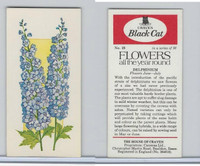 C18-0 Carreras, Flowers All Year Round, 1977, #23 Delphinium