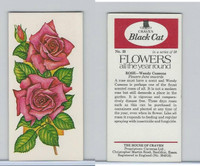 C18-0 Carreras, Flowers All Year Round, 1977, #25 Rose, Wendy Cussons