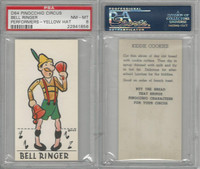 D64 Bakeries, Pinocchio Circus, 1939, Bell Ringer, PSA 8 NMMT