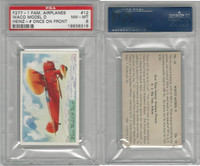 F277-1, H.J. Heinz, Famous Airplane Pictures, 1935, #12 Waco, PSA 8 NMMT