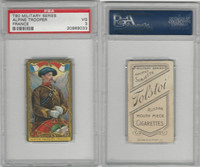 T80 Tolstoi, Military, 1911, Alpine Trooper, France, PSA 3 VG