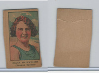 W551 Strip Card, Sports Stars, 1921, Helen Wainwright, Swimmer