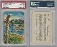 F279-4 Quaker Oats, Sergeant Preston Cards, 1956, #15 Yukon Queen, PSA 10 Gem