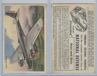 D59, Bell Bread, National Defense Pictures, 1940's, Army Bomber